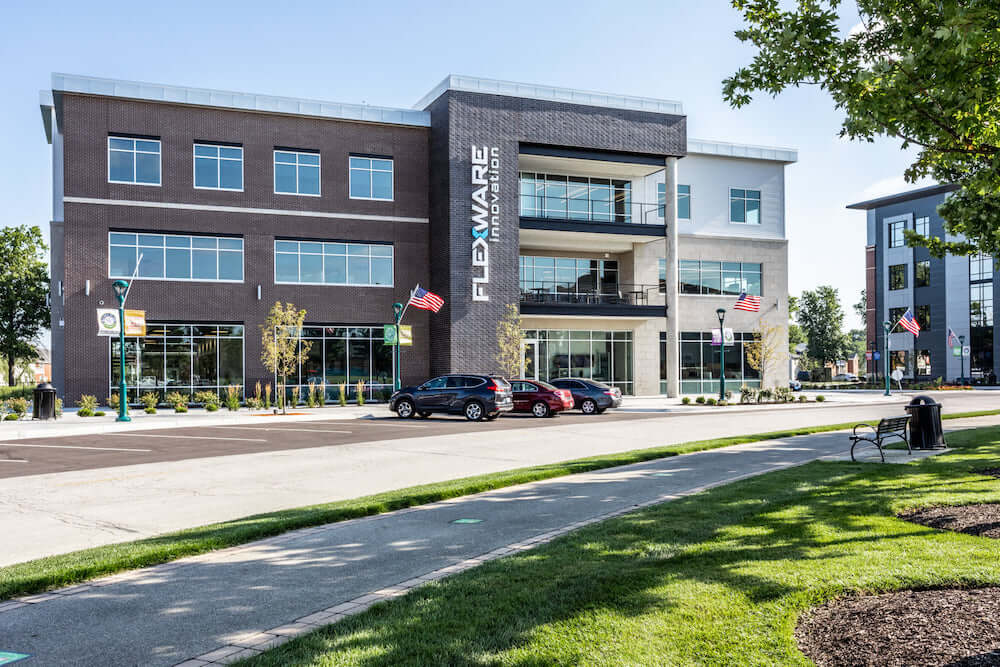 Figure 1 Flexware's new headquarters in Fishers, Indiana, completed in 2020